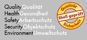 Shell geprüfte Sicherheit